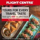 See, Taste & Tour the Globe