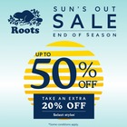 Sun's Out Sale!