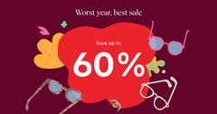 Worst year, best sale – you deserve this!