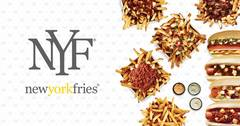 Save 20% on New York Fries through DoorDash Delivery!