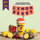 New Booster Juice Lemon Berry Smoothie!