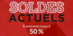 Soldes - Économisez jusqu'à 50 % - Femme, homme et maison