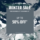 Winter Sale: Up to 50% Off!