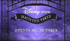 Disney Store Haunted Halloween Party