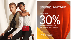 Friends and Family Event, Take An Extra 30% Off
