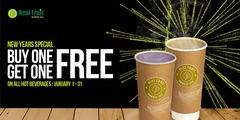 ☕BUY 1 GET 1 FREE FOR ALL HOT DRINKS☕⁠