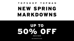 New Spring Markdowns!