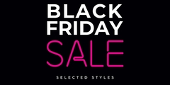 Black Friday Sale on selected merchandise