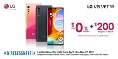 Get the LG Velvet 5G