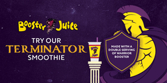 The Terminator Smoothie Is Back At Booster Juice!