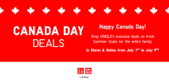 Canada Day Deals!