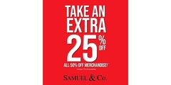 Winter Clearance at Samuel & Co.!🎉