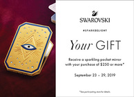 Carry your luck around with you, receive this Tarot pocket mirror when you spend $250 or more!!!!!