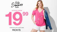 RICKI'S - HELLO SUMMER EVENT