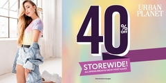 Gimme a Break! 40% off Storewide! All Spring Break & Vacay Must-Haves!