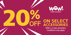 20% Off Accessories Sale!