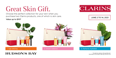 Celebrate Summer Skincare with Clarins Great Skin Gift