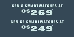 Gen 5 smartwatches on sale!