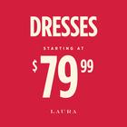 Dresses starting $79.99