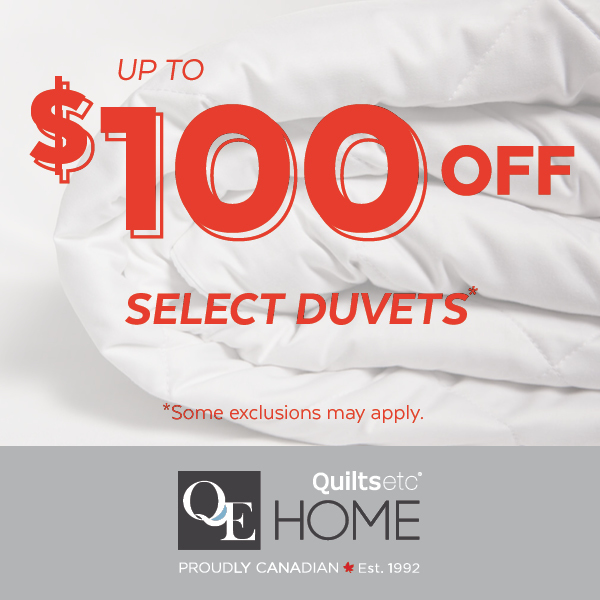 Take Up To $100 Off Cozy Duvet*