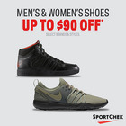 Select Shoes Up To $90 Off*