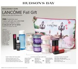 EXCLUSIVELY OURS LANCÔME Fall Gift from OCTOBER 3 - 28, 2018