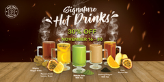 🚨☕30% DISCOUNT FOR ALL SIGNATURE HOT DRINKS🚨☕⚠️