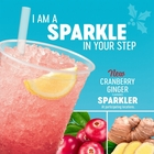 New Cranberry Ginger Flavoured Sparkler! Available for a limited time only.