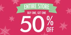 Buy 1, Get 1 50% OFF! (STOREWIDE)