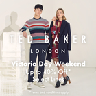 Ted Baker London Victoria Day Weekend