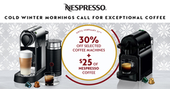 Nespresso Cold Winter Mornings Call for Exceptional Coffee