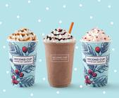 Come to Second Cup and enjoy our many Holiday beverages!