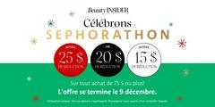 Célébrons Sephorathon!