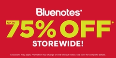 THE BIGGEST SALE OF THE YEAR AT BLUENOTES!
