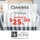 Special Pricing on Coverlets!