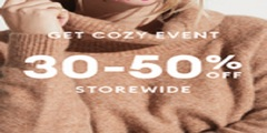 02/17-02/24 Get Cozy Event | 30-50% off storewide