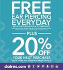 Free Ear Piercing Everyday