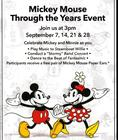 You're Invited to our Mickey Through the Years Event
