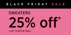 Black Friday Sweater Promo