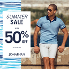 Summer sale. Up to 50% off!