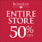 50% OFF THE ENTIRE STORE!