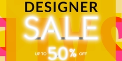 Designer Sale - Up to 50% Off