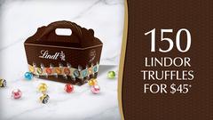 150 Lindor Truffles for $45*