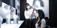 Book a styling appointment with a Dyson Stylist