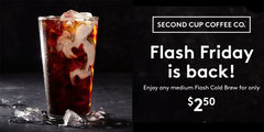 Flash Fridays are back this summer!