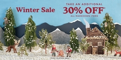 Our Winter Sale starts NOW! Take an additional 30% off* all markdown items