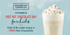 Free Hot Chocolate Day For Kids