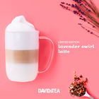 Limited Edition Lavender Swirl Latte