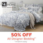 ALL Designer Collections 50% Off