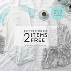 Buy two items, get 2 items free!